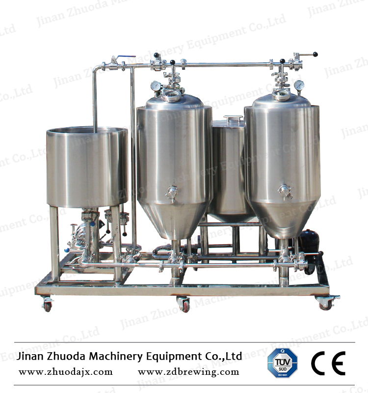 Electric Heating 50L Mini Beer Brewing Equipment Home Beer Making Machine