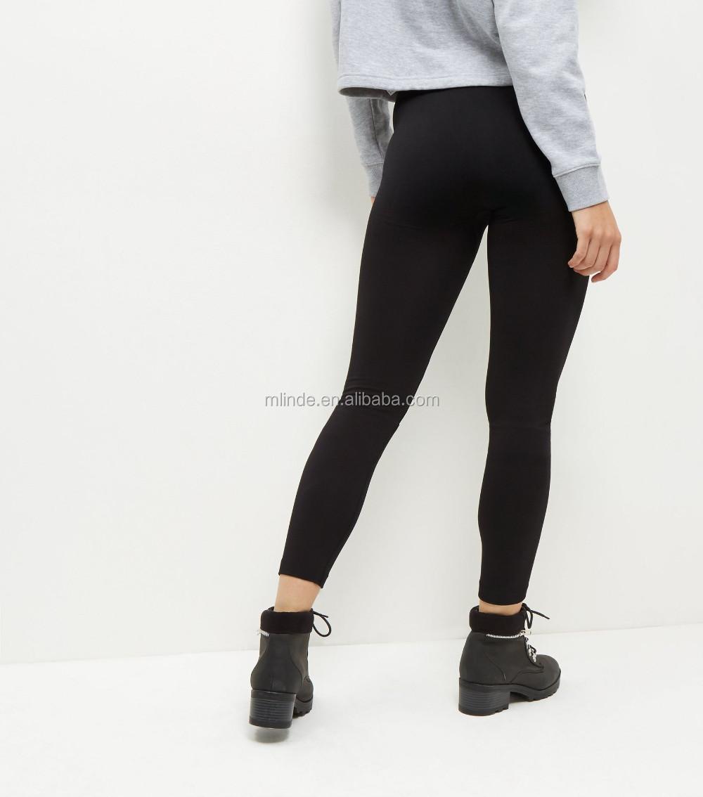 9a0ba9fe60e09 China Wholesale OEM Clothing Black Fleece Lined Leggings Yoga Pants  Leggings Womens Fitness Leggings High Quality