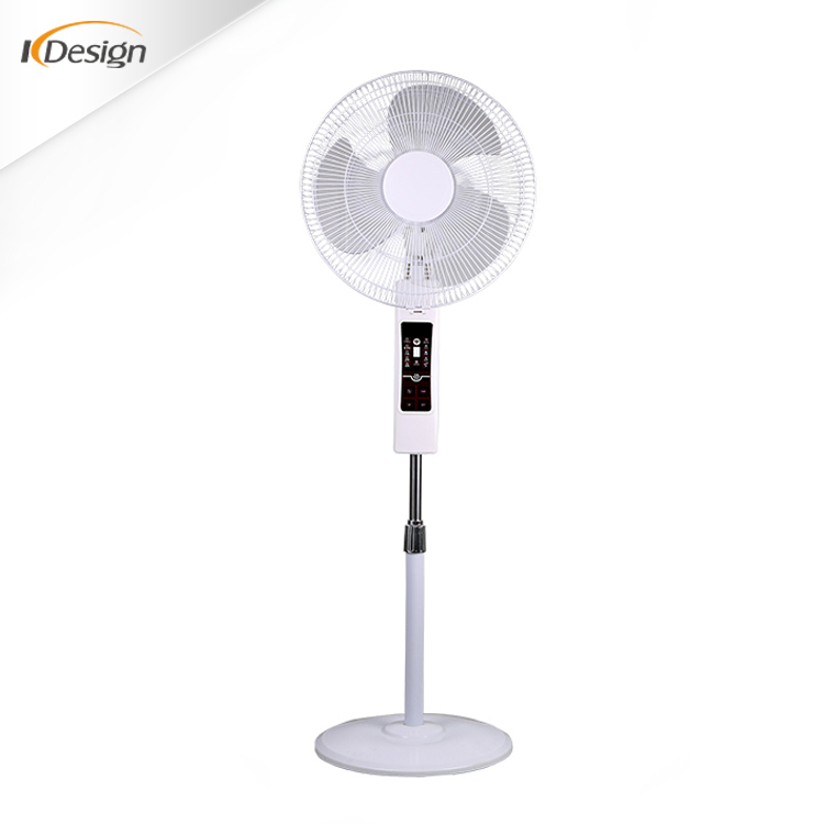 Round Base Electric Ac 220v Stand Fan All Types Of Decorative