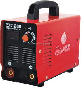 MLZ DA OU BRAND Factory cheap electric plasma zx7-200 arc 200 inverter welder
