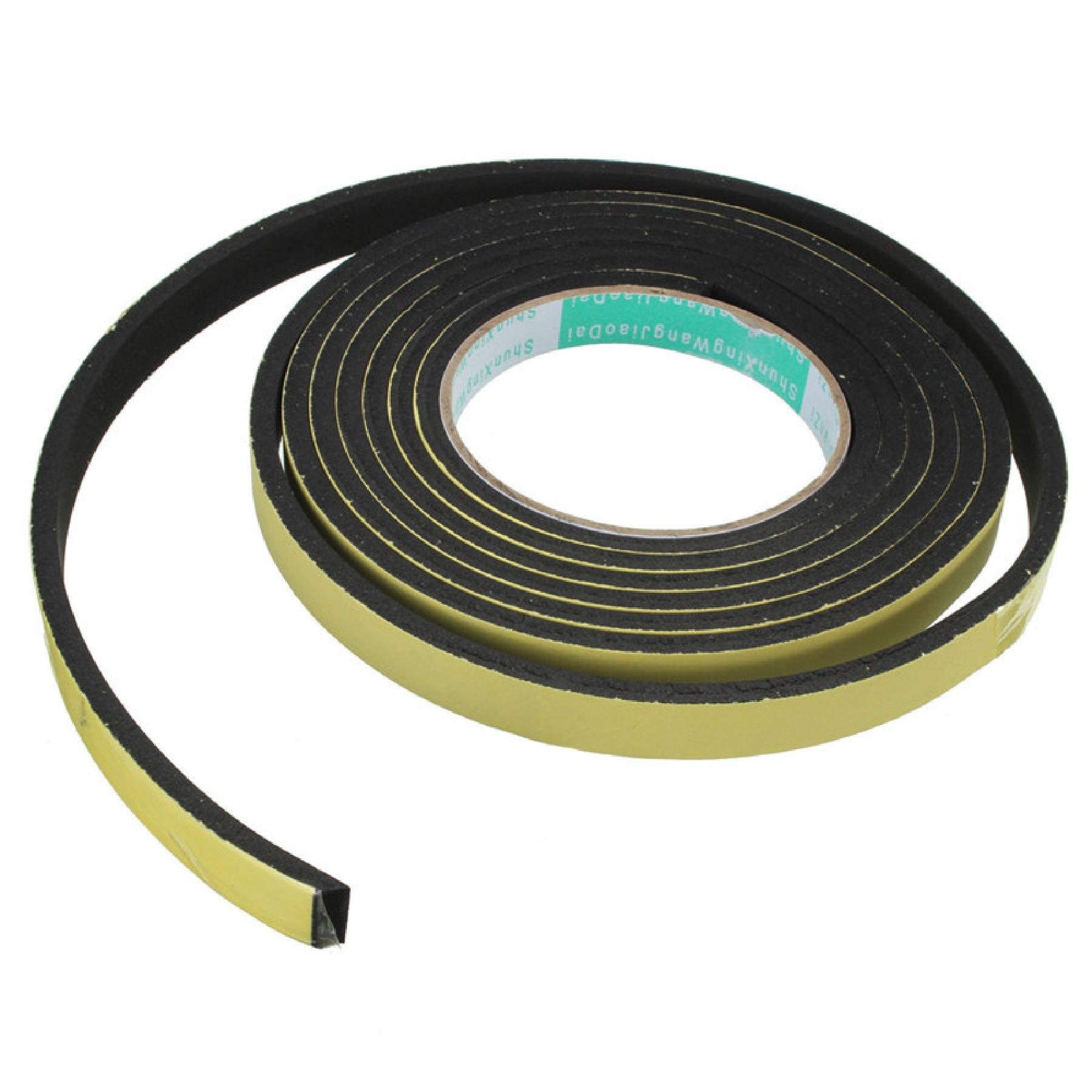 3 Meter Window Door Foam Adhesive Draught Excluder Strip Sealing Tape Adhesive Tape Rubber Weather Strip E/D/I-type