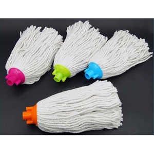 Toprank Heavy Duty Commercial Grade Super Loop Cotton Thread Mop Head Floor Cleaning Wet Mop