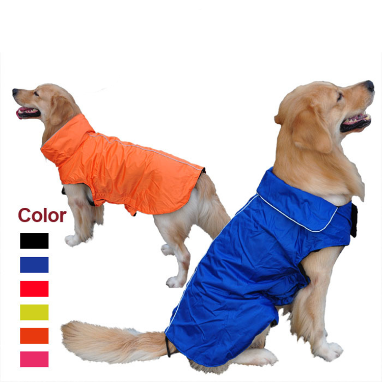 New Waterproof Nylon Pet Vest Clothes Dog Jacket
