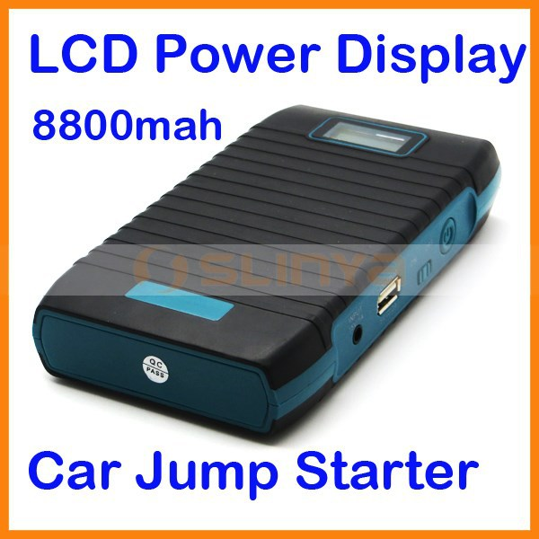8800mah Car Emergency Battery Pack 12V Auto Booster Start Power Mobile Phone Power Bank Car Power Supply