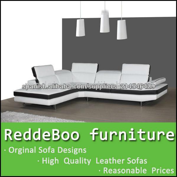 Venta al por mayor muebles negros de leather-Compre online los ...