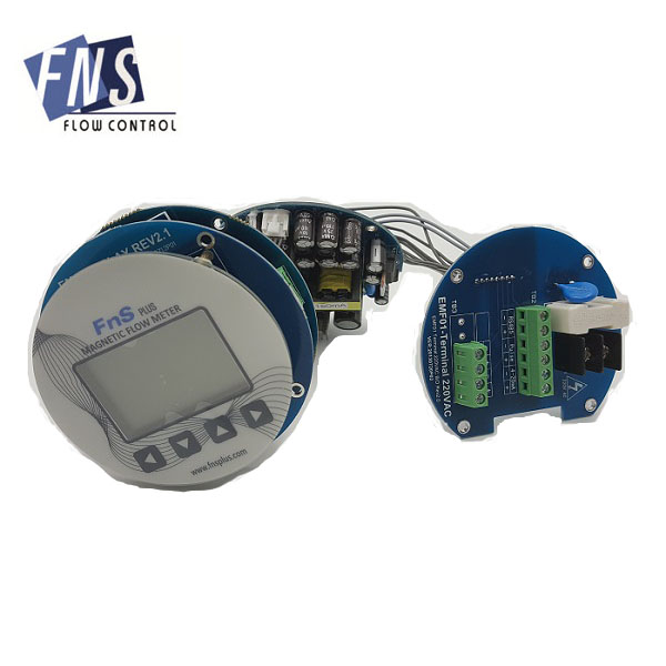 RS485 4-20ma electromagnetic flow meter transmitter PCB without shell