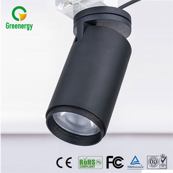 Hot sale new design adjustable beam led museum track light spot