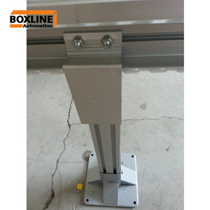 accurate energy saving POM material chain conveyor system/chain scraper conveyor for material handling system