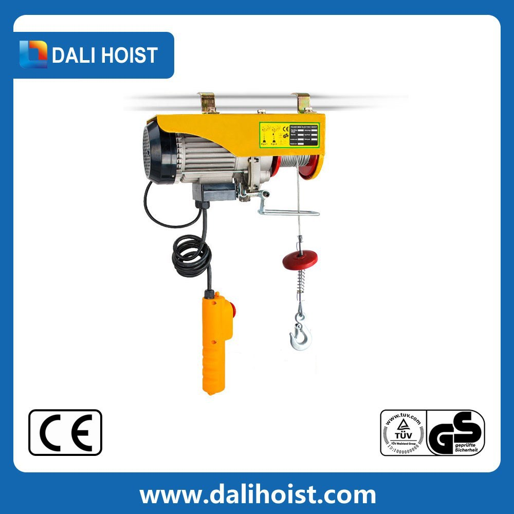 HSY- hot sale electric hoist lift/mini electric hoist /electrical hoist manufacture