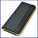 Real Leather Luxury Flip Case For Iphone 5