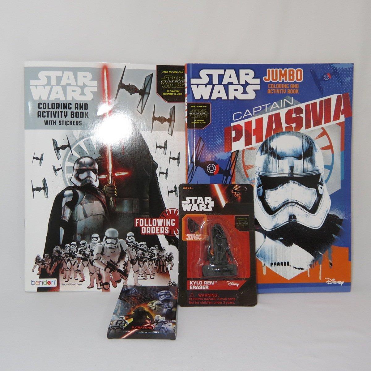Buy Star Wars Jumbo Coloring & Activity Book, Kylo Ren Coloring and