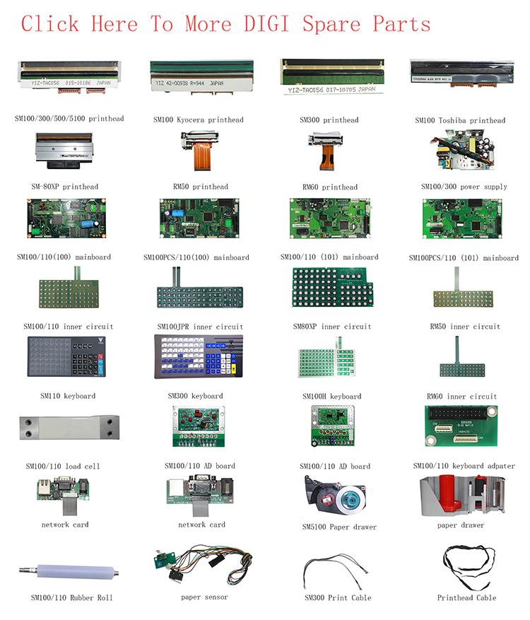 कैस कैस के लिए प्रिंट सिर CL5200 थर्मल Printhead CL5000J-15 है CL5000J CL5000 CL3000 लेबल मुद्रण इलेक्ट्रॉनिक तराजू संतुलन