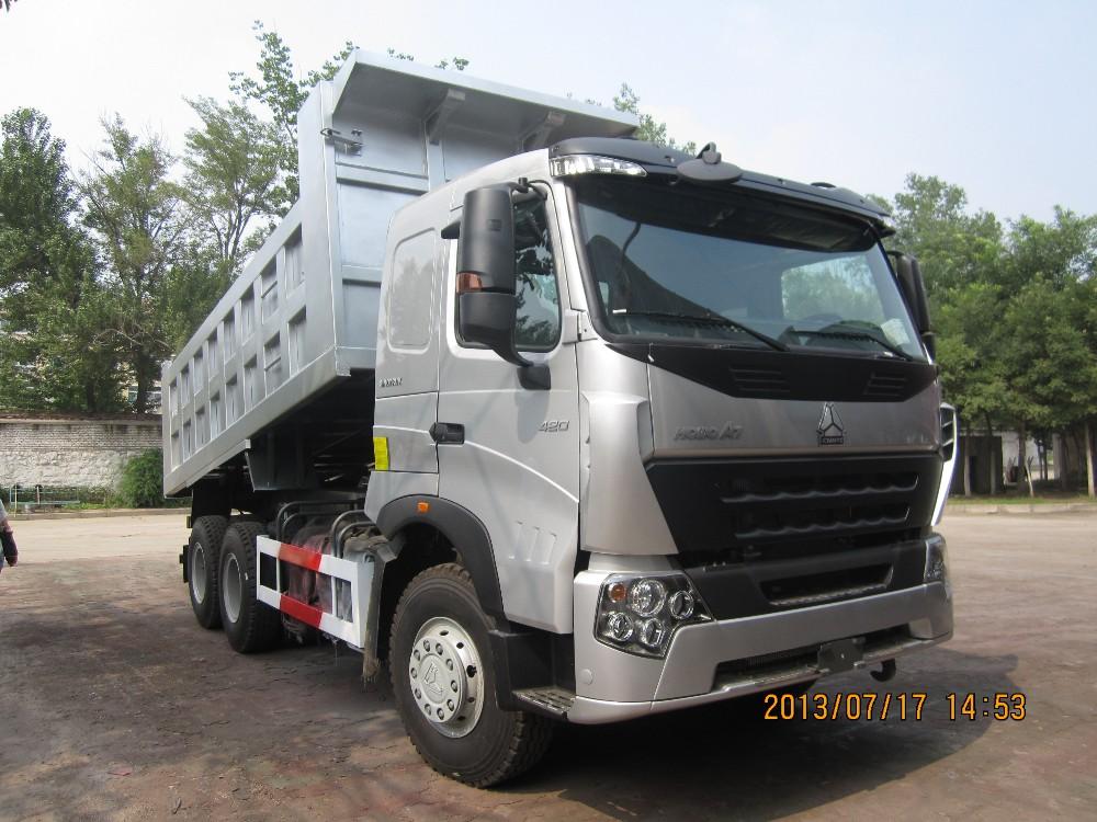 Sinotruk Howo A7 30 Tons Tipper Truck Howo A7 Dump Truck