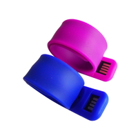 new products slap bracelet corporate gift cheaper usb flash drive