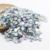 Hot Sale 3mm 4mm 5mm 6mm Crystal AB Non HotFix Foiled Back Resin Rhinestone for Nail Art D112