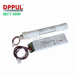 Rechargeable power emergency pack module MCT58W