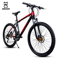 Adult variable speed high carbon steel frame disk brake mountain bike bicycle