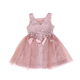 Latest Vintage Design Wholesale Kids Boutique Clothing Lace Tulle Party Dress Little Girl Princess Wedding Dress Set