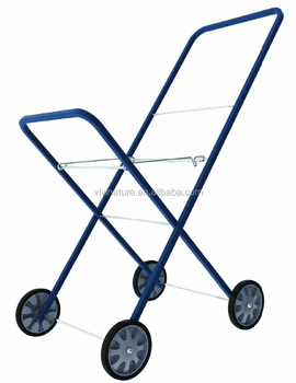 New Laundry Basket Trolley Cart With Wheels Laundry