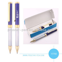 Mini retractable ballpen in gift box nice design and good price