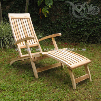 teak deck chairs wooden folding design for outdoor pools or beach