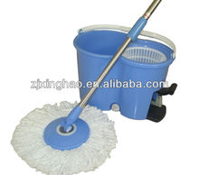 Plastic mop bucket 360 magic twist mop handle