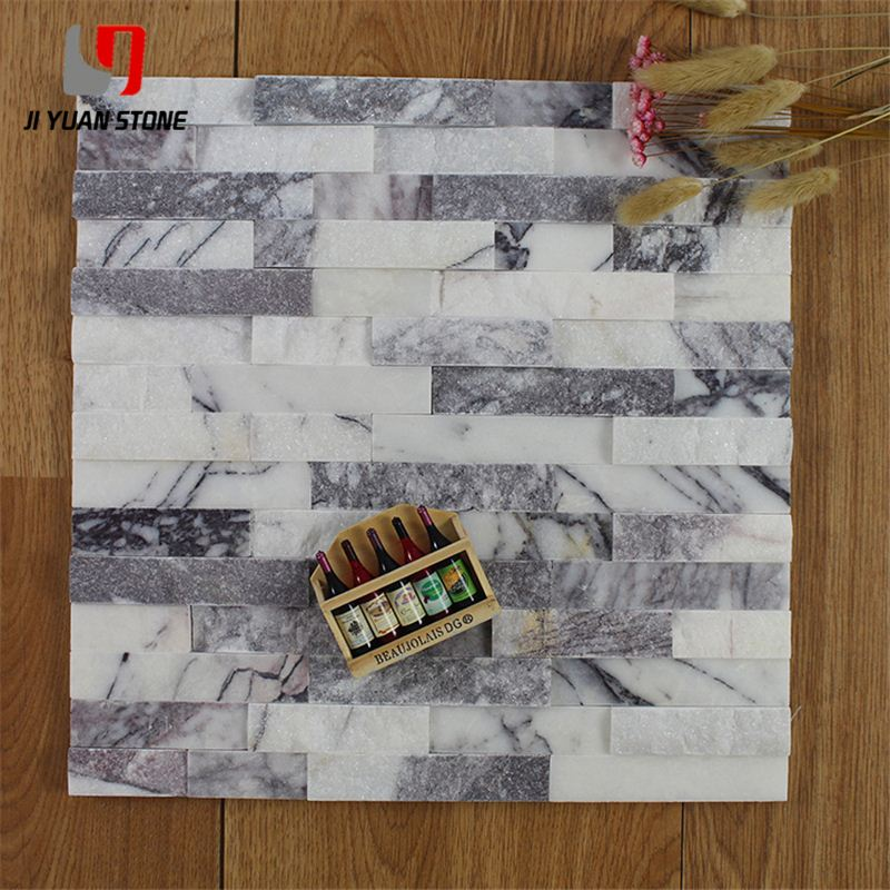 Lower Price White Quartz Ledge Stone Decorative Wall Panels Exterior For Project