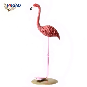 Creative Resin Crafts Household Girl Living Room Bedroom China Import Items Deco Pink Flamingo Home Decor