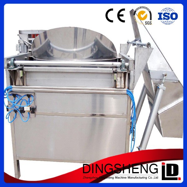 Electric/Gas Potato Chips Frying Machine for Fast Food Restaurant, Open Fryer