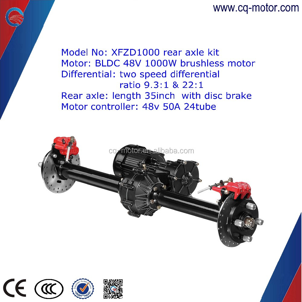 Automatic Gear Shift With Two Speed 48v 1000w Motor Kit