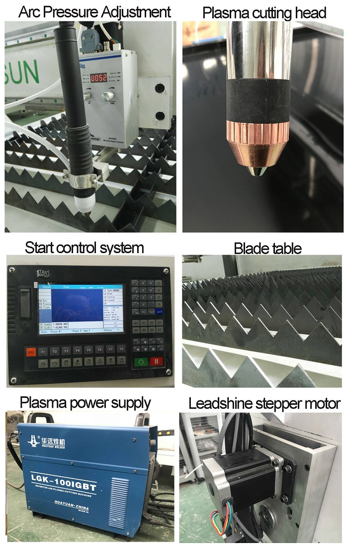 FORSUN CNC Plasma Cutting Machine China/hot sale plasma cutting machine/cutting torch plasma cutter