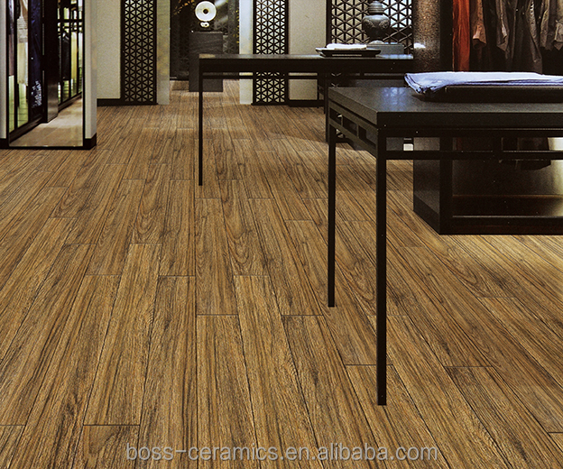 FOSHAN supplier 150*600mm wooden floor tiles in Philippines