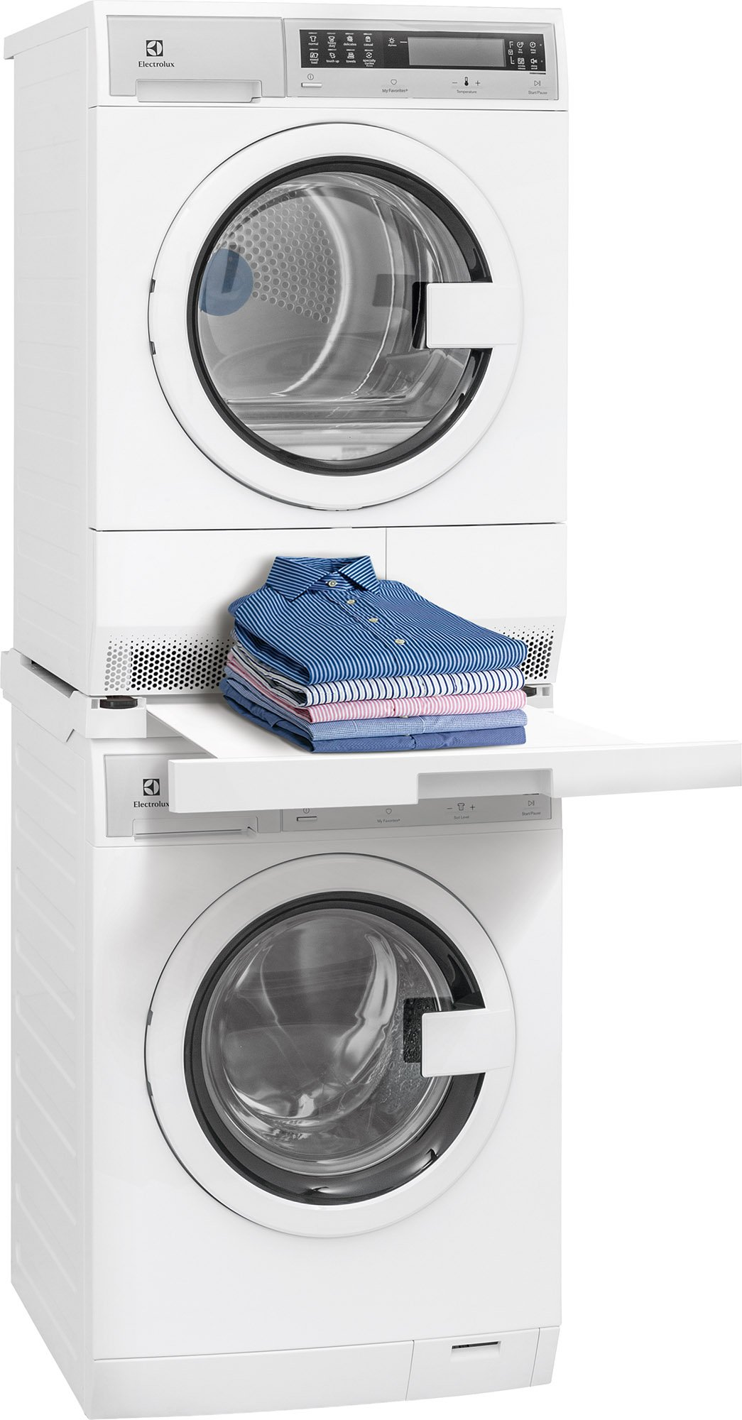 Kenmore 02618012 Laundry Install Parts Front Load Washer and Dryer Stacking Kit, White
