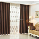 Manufacturer 100% polyester blackout fireproof curtain