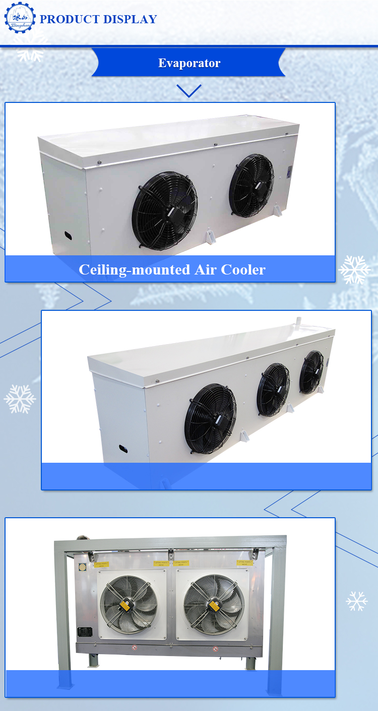 High quality evaporator blower fan evaporative condenser new air cooler