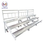 Mobile Aluminum Folding Choir Stage Stairs/ Chorus Platform Stage/ Choral Riser