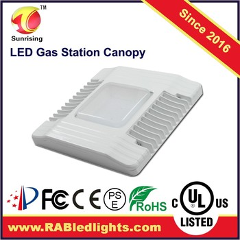 5 Years Warrenty Flat Led Canopy Lights With Ul Dlc Approved