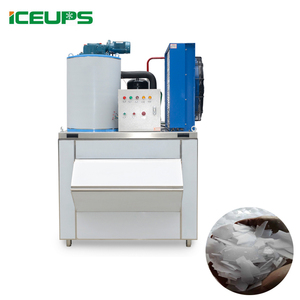 ICE making machine high quality KMS-1T Flake ice maker for keep fish fresh Flake Ice maker