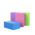 Yoga Foam Purple Exercise Blocks bricks for Assisting in Your Yoga Postures