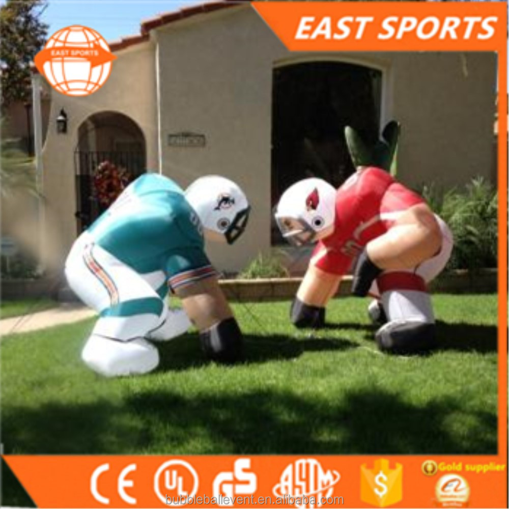2017 New Custom giant nfl inflatable bubba football player