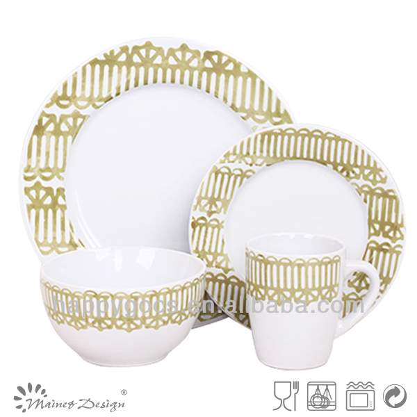 Houseware Products 16pcs ceramic Dinner Set