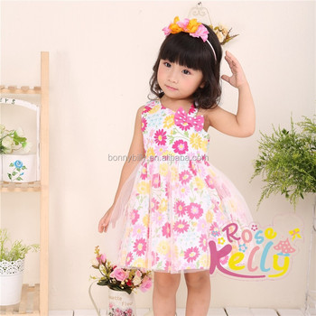 Summer Flower Cotton Frock Designs Carters Baby Clothes Baby