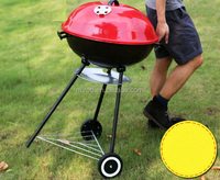 Bbq Portable Apple Charcoal Grill