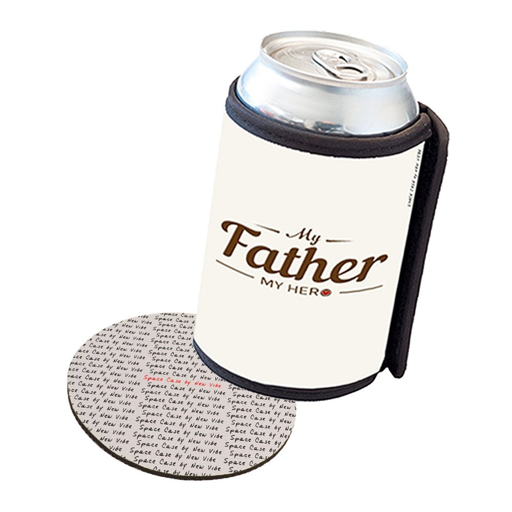 Space Case by New Vibe Can Cooler Koozie - My Father My Hero