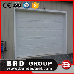 CE automatic customized size glass panel garage door price