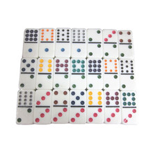 Colorato doppio 12 <span class=keywords><strong>domino</strong></span> set <span class=keywords><strong>personalizzato</strong></span> professionale <span class=keywords><strong>domino</strong></span> giochi da tavolo