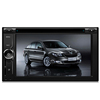 KSD-6528A universal double din 6.2 inch car DVD player radio with GPS navigation bluetooth big USB