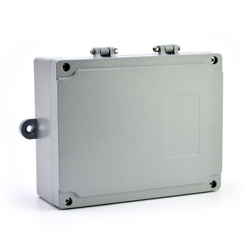 180*140*55mm hinge type IP65 waterproof aluminum casted junction box with fixed lugs