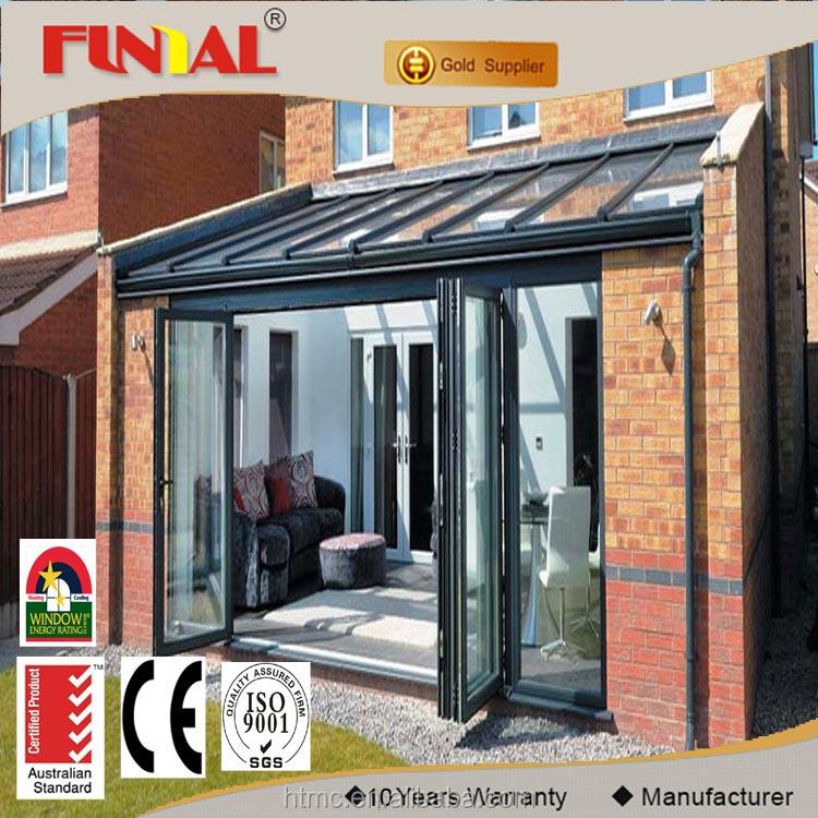 Villa Casa HT75 serie aluminio Lowes vidrio puertas plegables de ...