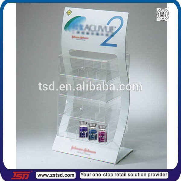 Tsd-a618 Optical Shop Countertop Acrylic Display Stand For Contact ...